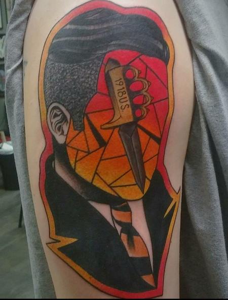 Tattoos - Abstract man - 141606