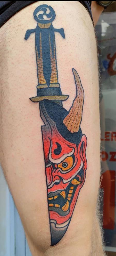 Tattoos - Oni Dagger - 142860