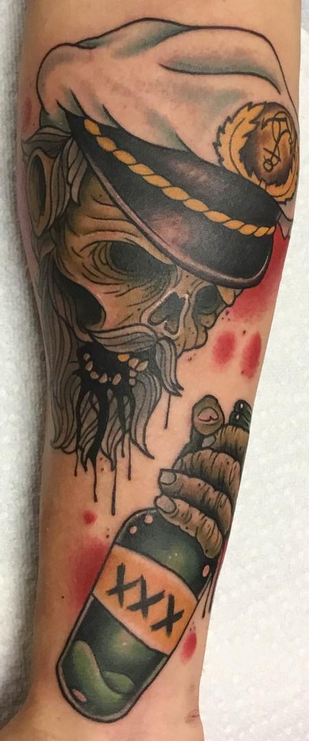Tattoos - Drunken Zombie Sailor - 134936