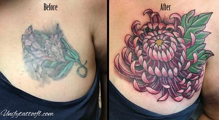 Tattoos - Japanese Chrysanthemum - 138902