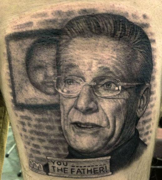 Tattoos - Maury Povich Tattoo - 75679