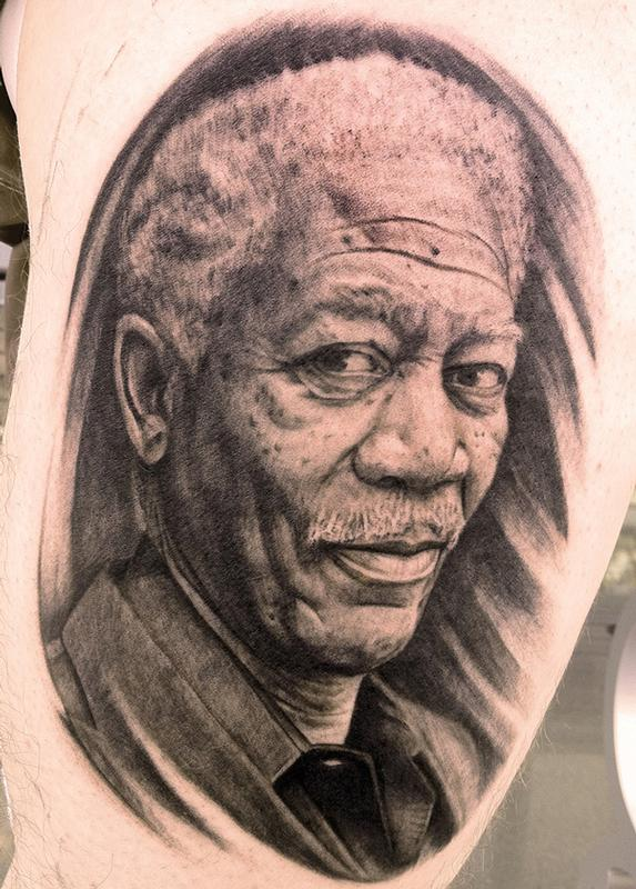 Tattoos - Morgan Freeman - 64668