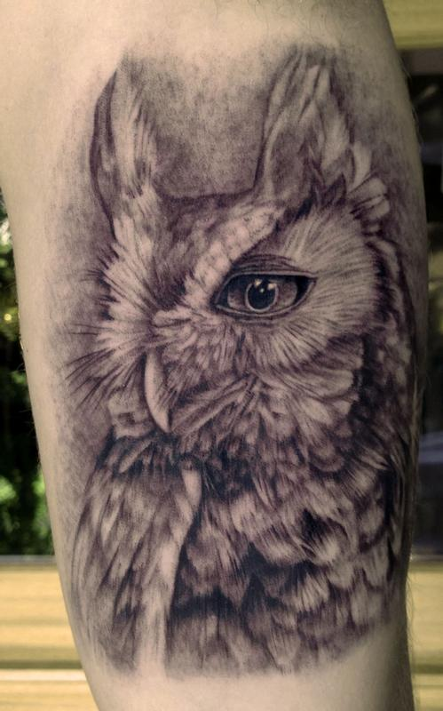 Tattoos - Owl Tattoo - 80639