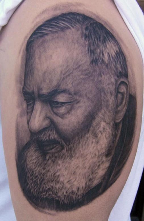 Tattoos - Padre pio  - 38200