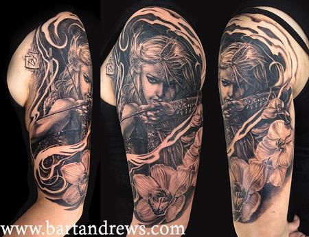 Tattoos - Lady warrior - 101776