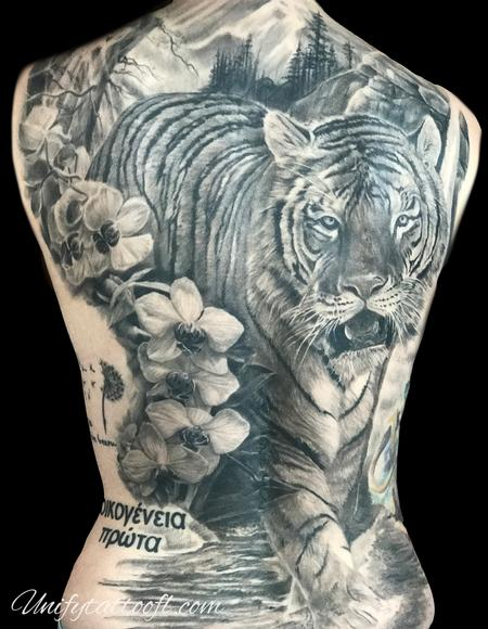 Tattoos - Tiger - 138907