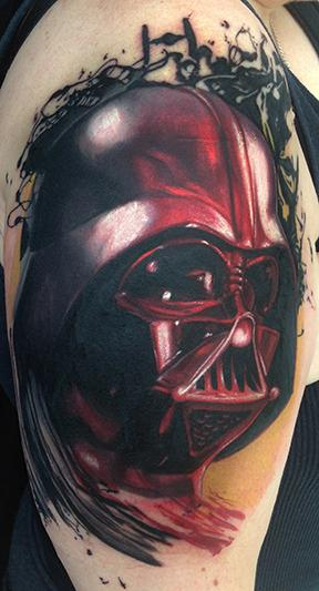 Tattoos - Darth Vader - 108693