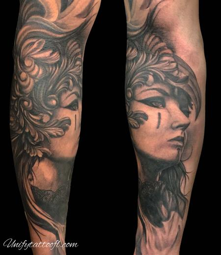 Tattoos - Valkyrie woman - 138909