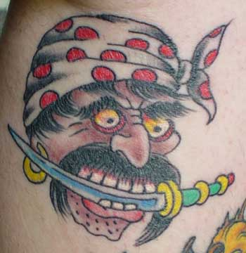 Mike Malone - Pirate Tattoo