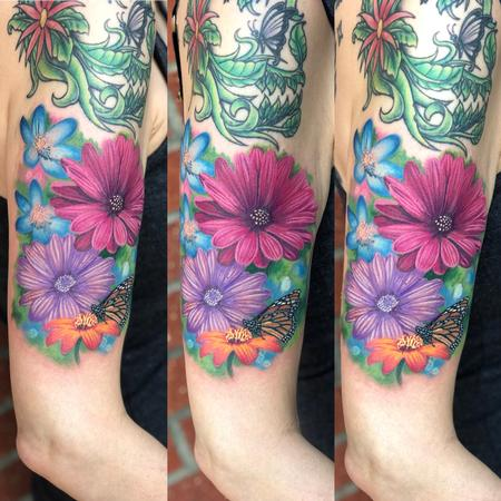 Tattoos - Flowers - 139156