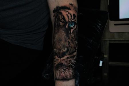 Tattoos - Tiger - 141812