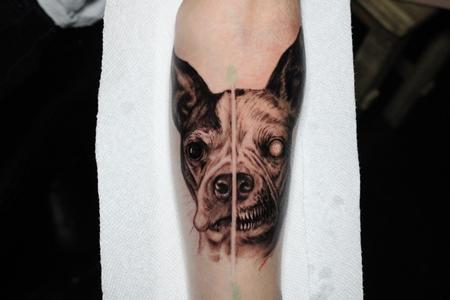 Tattoos - Evil dog - 141710