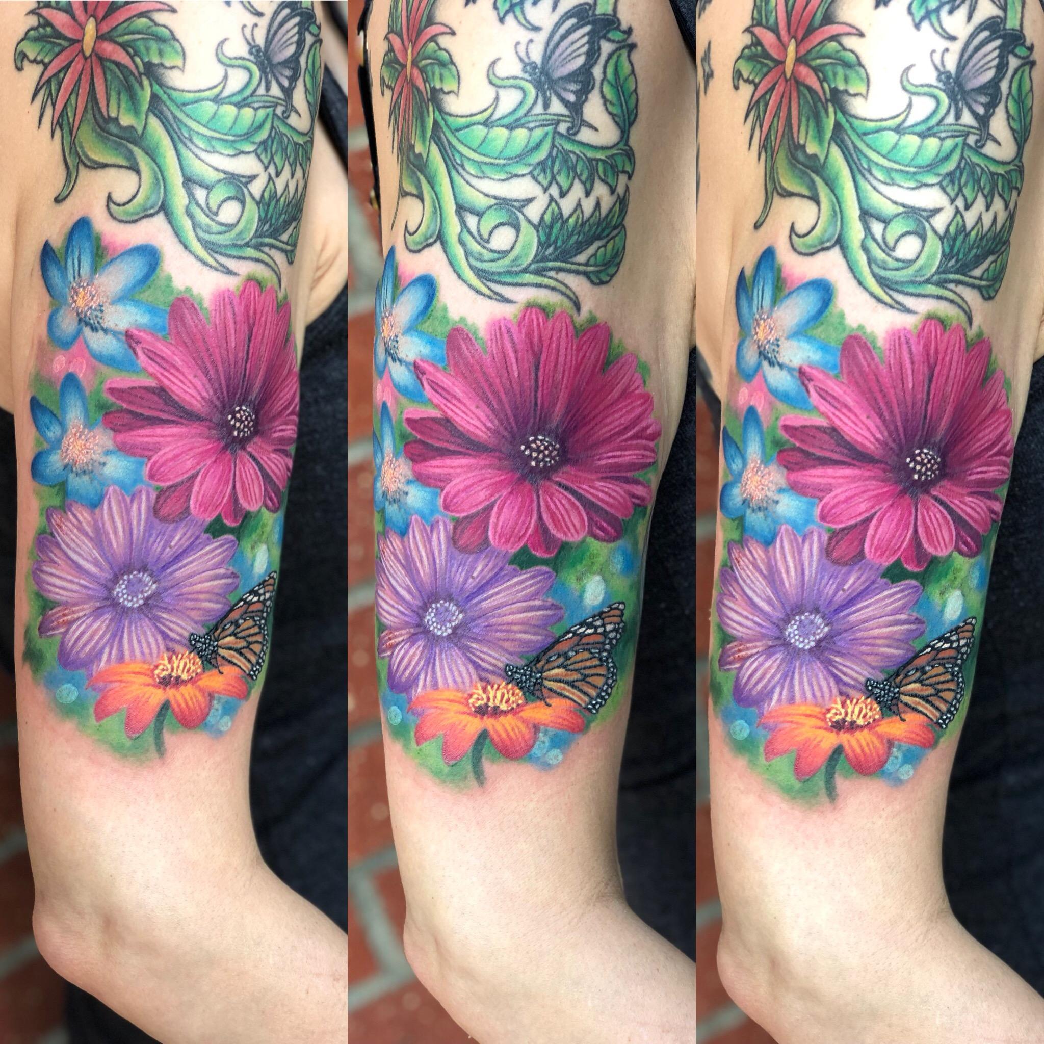 Tattoos - Flowers - 139156